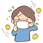 花粉症の季節です