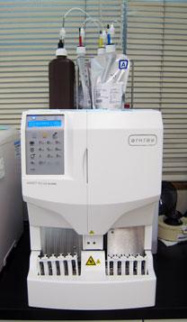 ヘモグロビンA1c測定器(ADAMS A1c Lite HA-8380V)